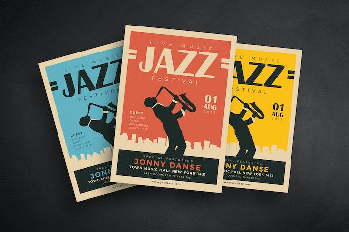 Thumbnail for Old Jazz Festival Flyer