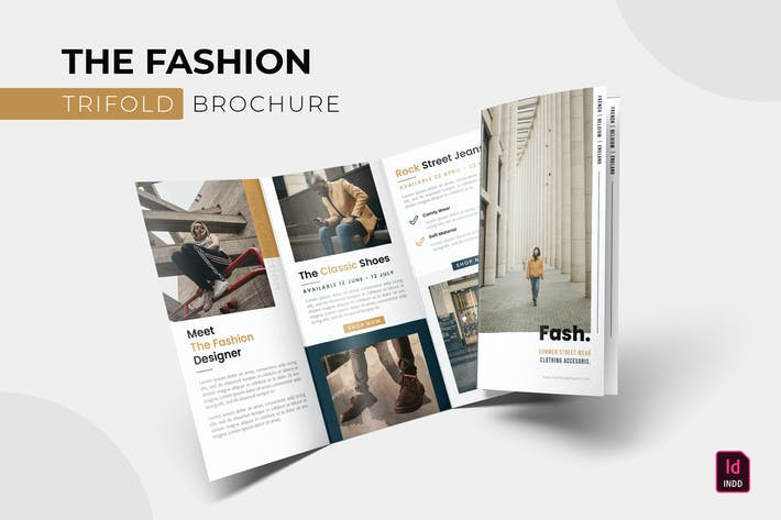 Thumbnail for Fashion | Trifold Brochure