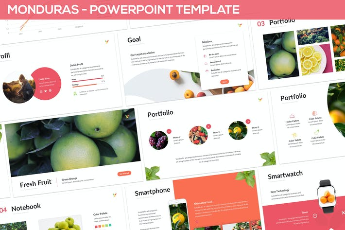 Thumbnail for Monduras - Nature Powerpoint Template