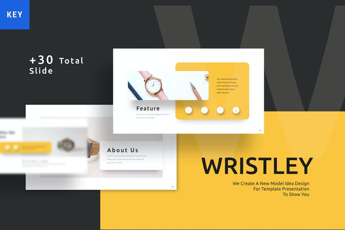 Wristley - Elegant Keynote Template