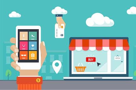 Compras y comercio electrónico