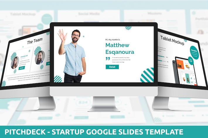 Thumbnail for Pitchdeck - Startup Google Slides Template