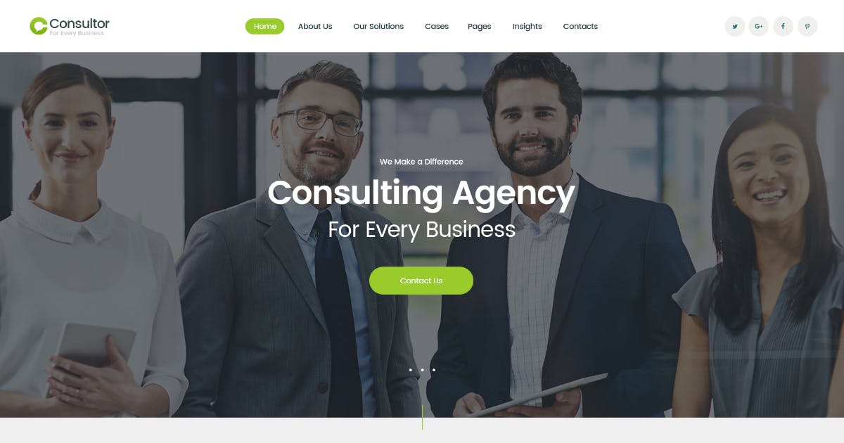 Download Consultor | A Business Financial Advisor WordPress by AncoraThemes