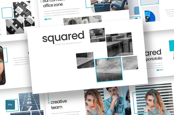 Thumbnail for Squared - Keynote Template