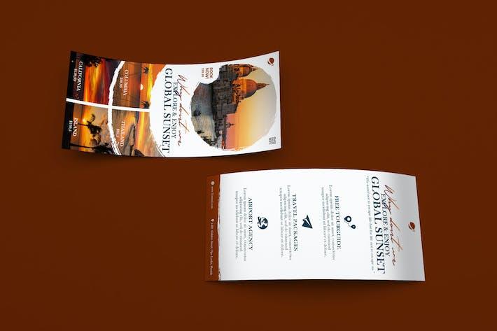 Thumbnail for Travel DL Rackcard PSD Template