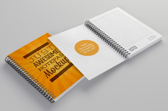 Cover Image For Notepads Mockups Pack
