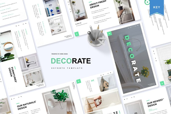 Cover Image For Decorate | Keynote Template