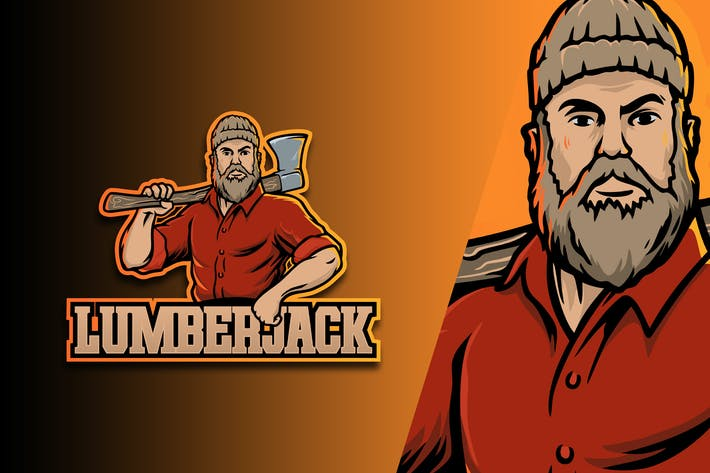 Lumber Jack Esport Logo Vol. 1