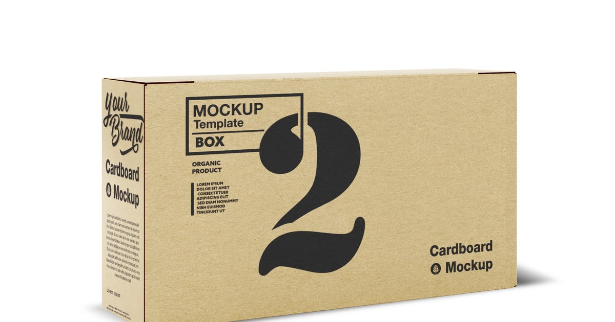 Download Kraft Box Mockup by roverto007