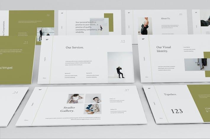 Thumbnail for Olieva - Branding Guidelines Google Slides