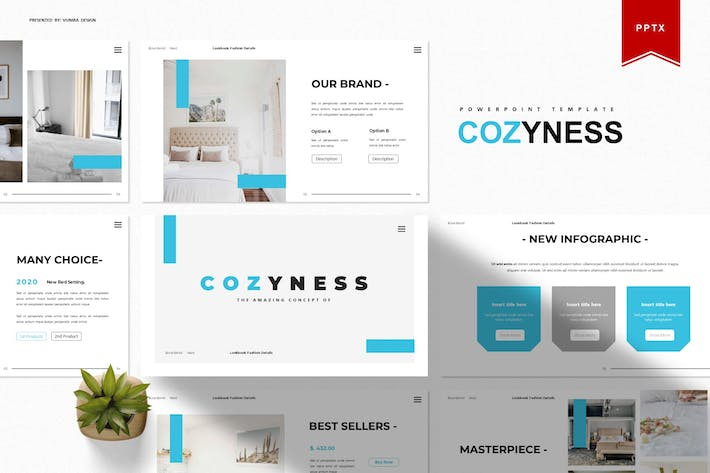 Thumbnail for Cozyness | Powerpoint Template