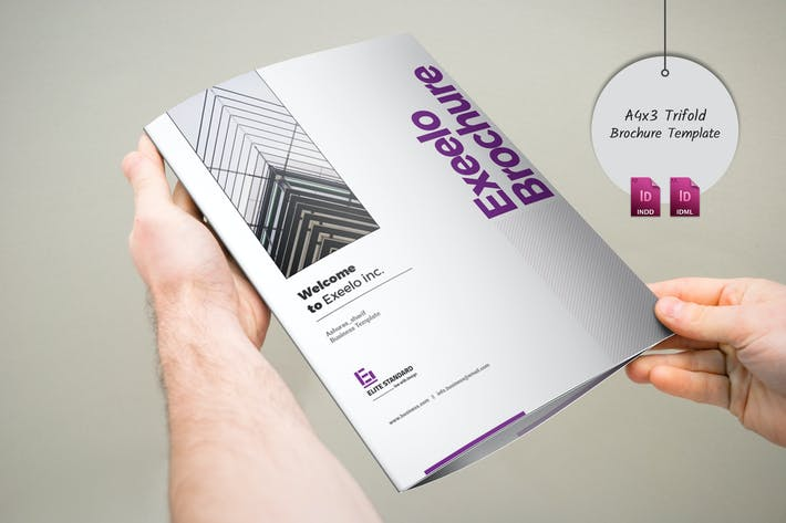 Cover Image For 3xA4 Trifold Brochure