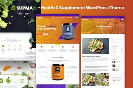 Supmax - Salud y Suplemento Elementor WordPress