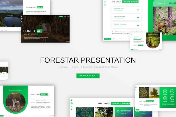 Thumbnail for Шаблон презентации Forestarr
