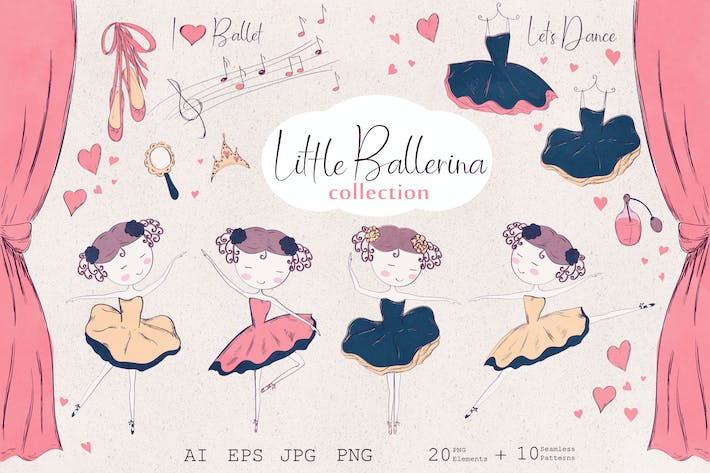 Thumbnail for Little ballerina