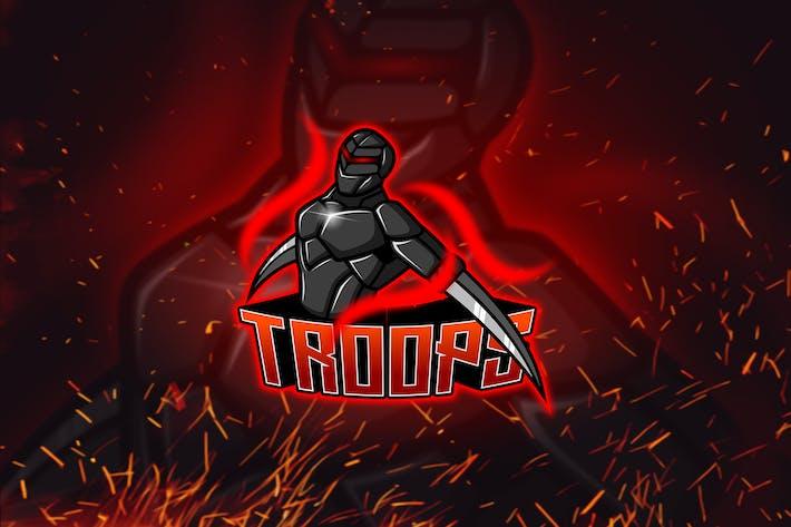 Thumbnail for Troops - Esport & Mascot Logo YR