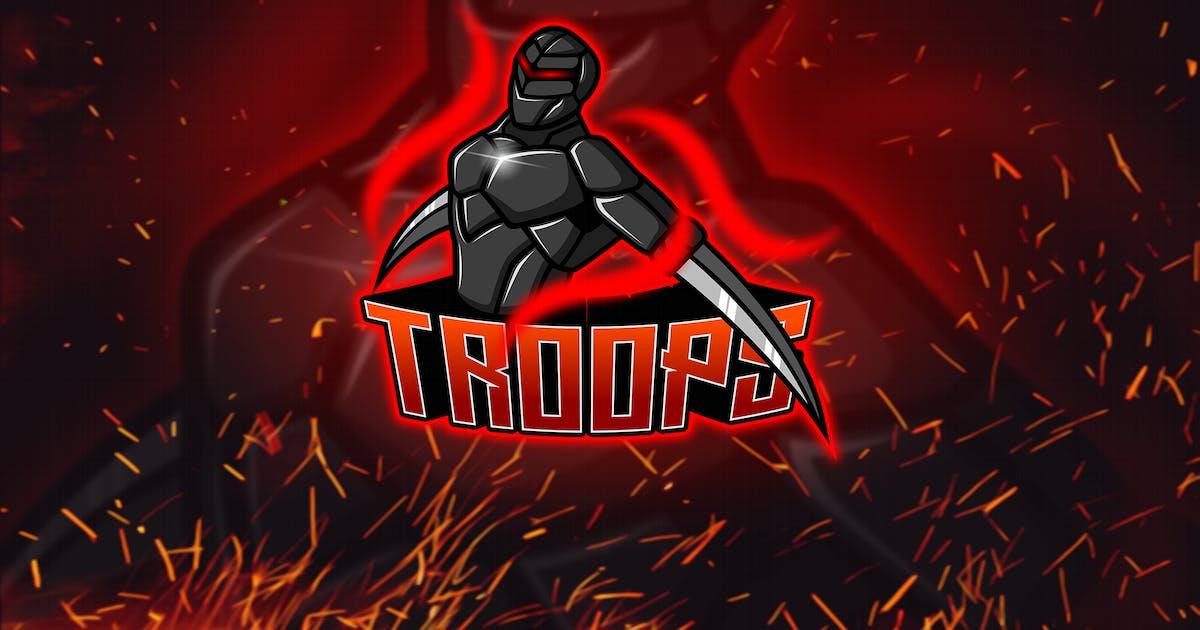 Download Troops - Esport & Mascot Logo YR by Rometheme