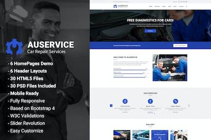 Auservice - Auto Mechanic & Repair HTML Template