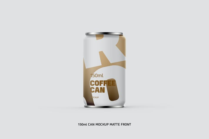 Thumbnail for Coffee Can 150ml Matte Eye Level