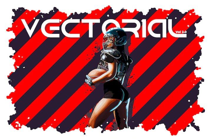 Thumbnail for Векторное действие 02 Photoshop