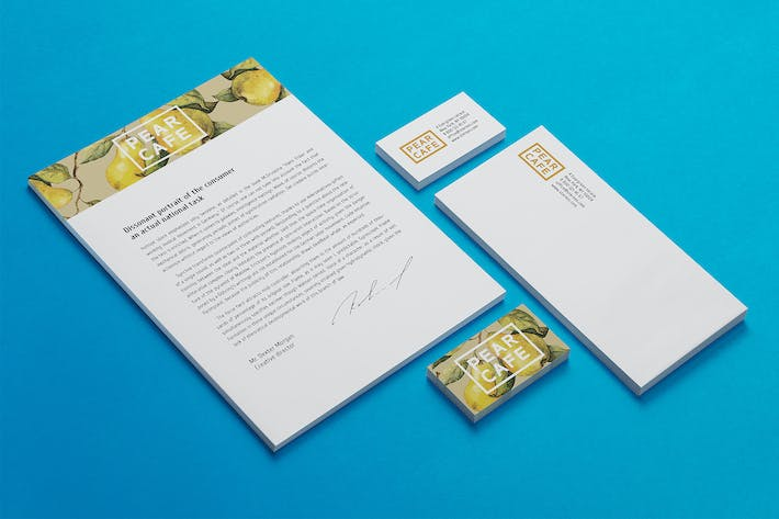 Cover Image For Stationery / Branding Mock-Up's