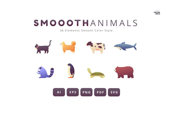 36 Elements Animals Smooth Style