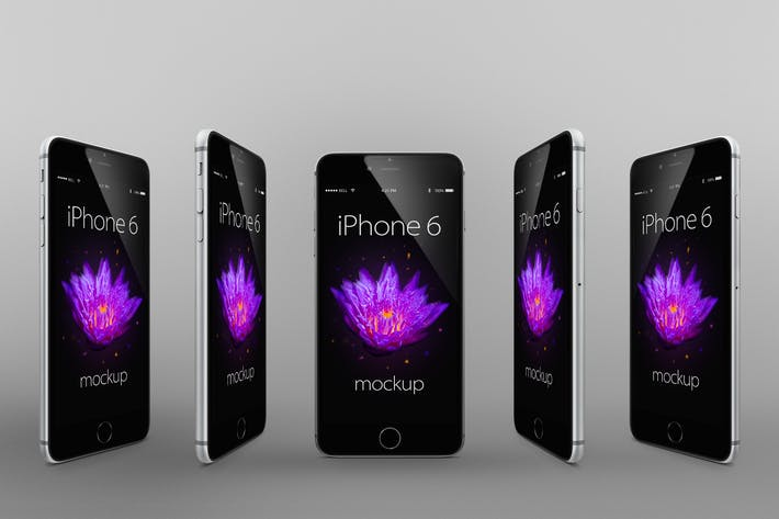 Thumbnail for iPhone 6 Photorealistic Responsive Mock-Ups Vol.2