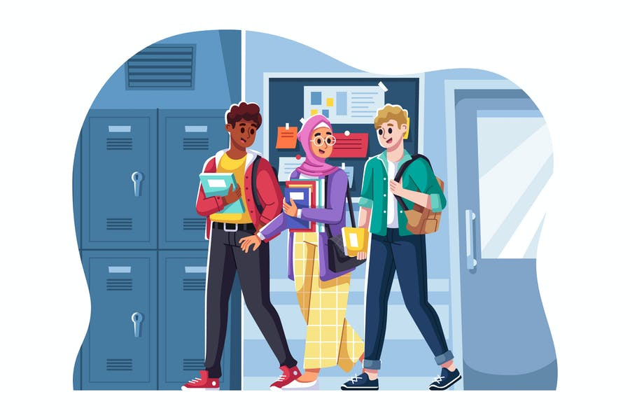 Ilustración universitarios