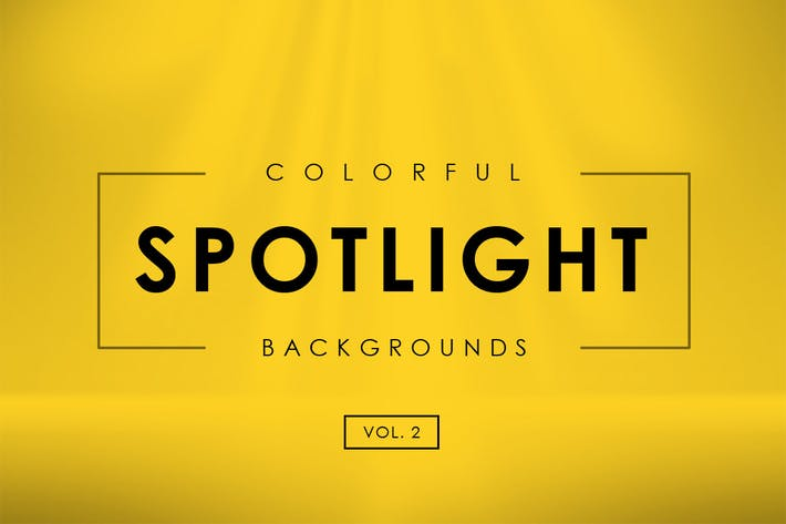 Colorful Spotlight Backgrounds Vol. 2