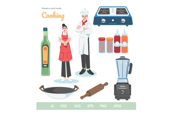 Cooking - Illustrations