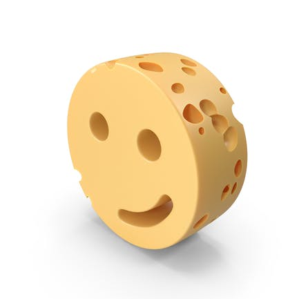 Side Smiley Face Cheese