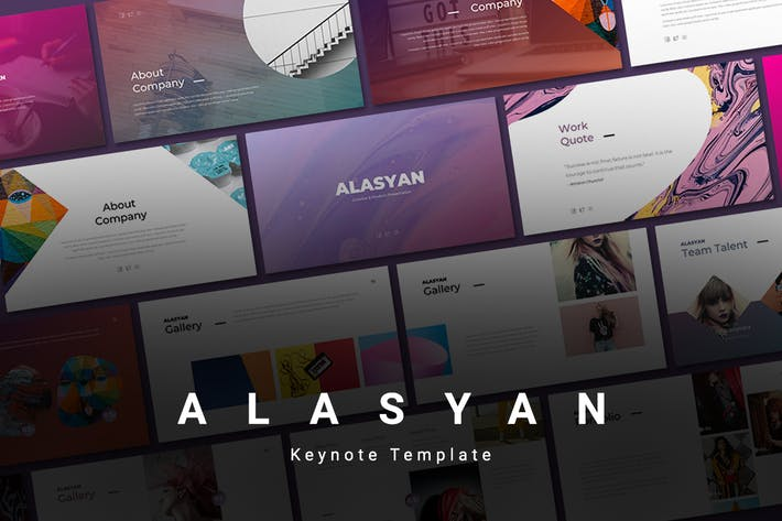 Thumbnail for Alasyan - Keynote Template