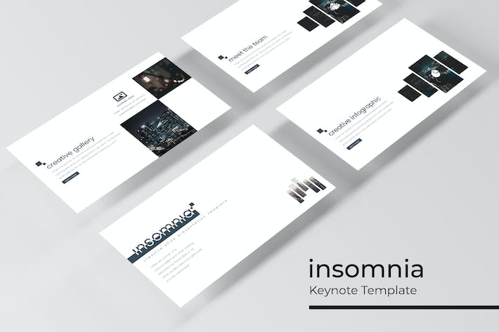Thumbnail for Insomnia- Keynote Template