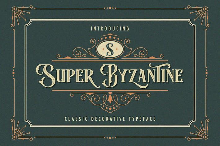 Super Bizantino - Fuente decorativa