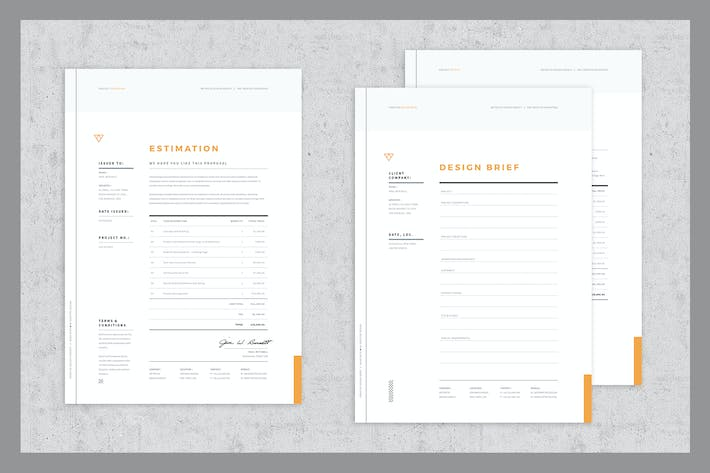 Thumbnail for Brief - Estimation - Invoice Templates