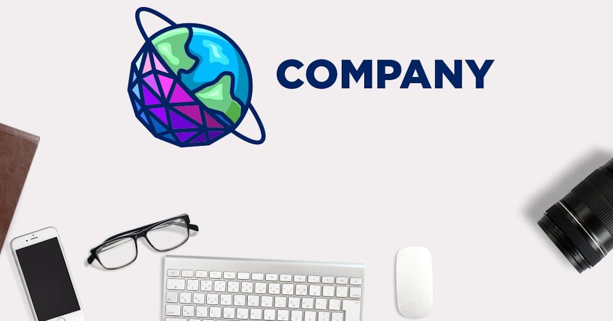 Download Data World - Modern Internet Networking Logo by Suhandi