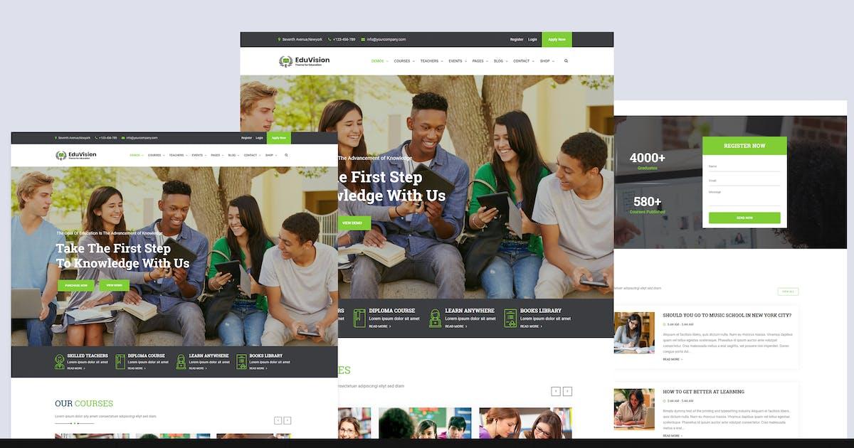 Download Eduvision - Online Course Education WordPress by shtheme