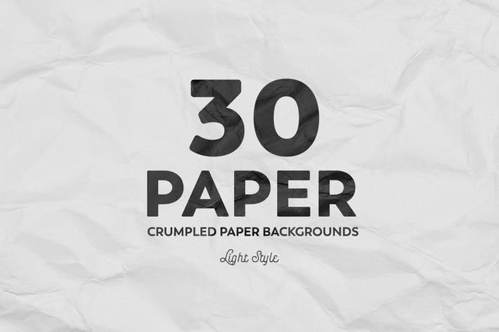 Thumbnail for Crumpled Paper Backgrounds