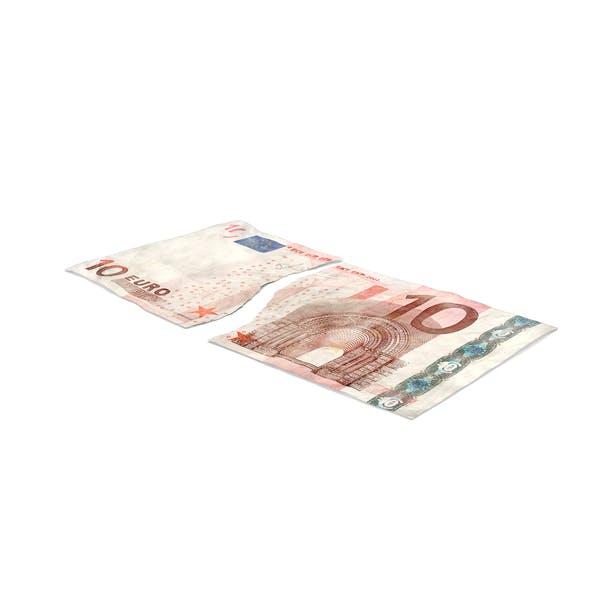 Thumbnail for 10 Euro Bill Torn