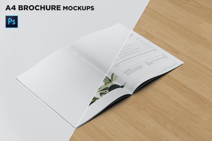 Thumbnail for A4 Brochure Mockups