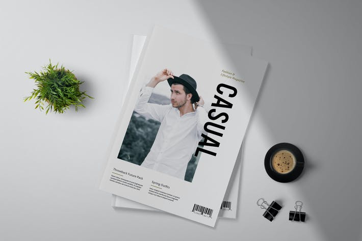 Thumbnail for Casual - Magazine Template