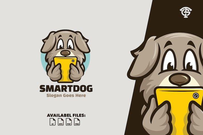 Thumbnail for Smart Dog - Logo Mascot