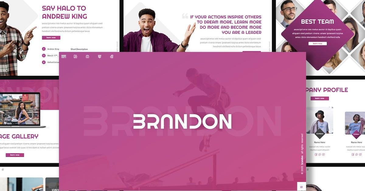 Download Brandon - Creative Keynote Template by inspirasign