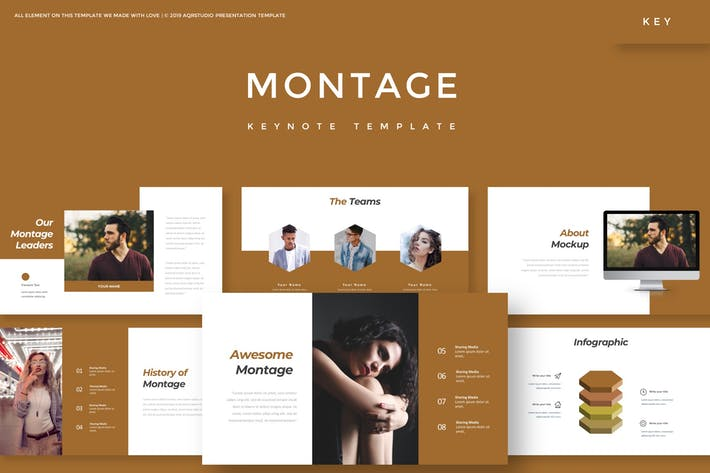 Thumbnail for Montage - Keynote Template