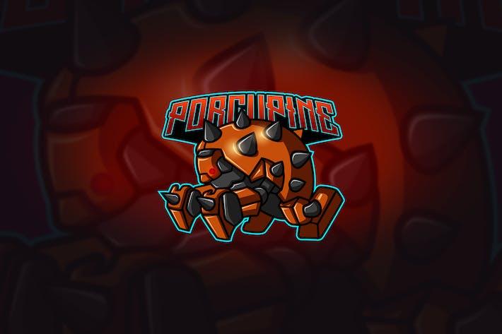 Porcupine - Mascot & Esport Logo