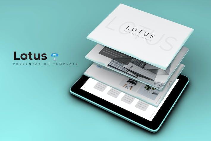 Thumbnail for Lotus - Keynote Template