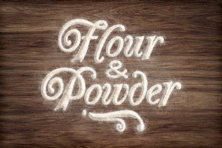 Flour & Powder - Photoshop Actions