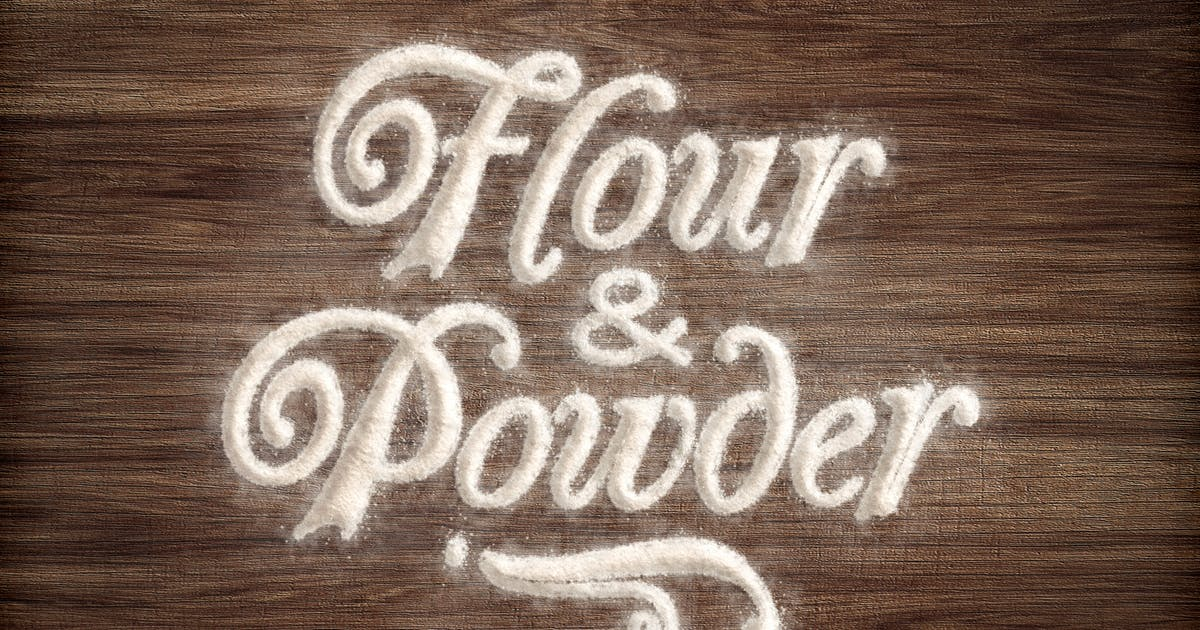 Download Flour & Powder - Photoshop Actions by BlackNull