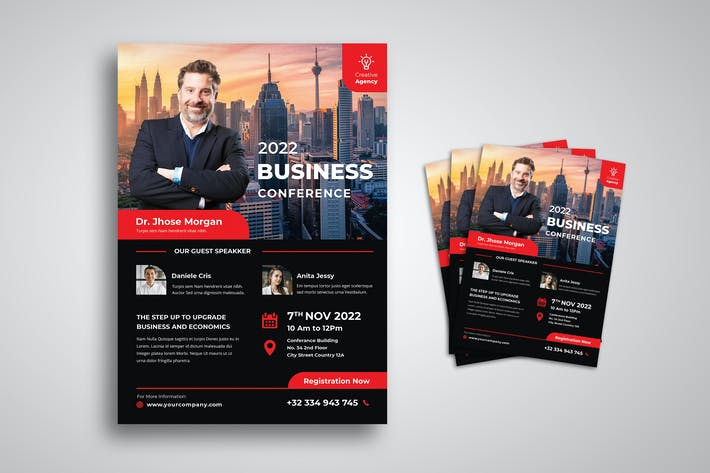 Thumbnail for Business Conference Flyer