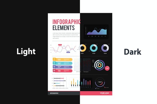 IInfographic Examples for Designer V.44 - product preview 3